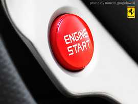 Ferrari Start Engine button